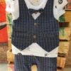 Boys Formal Dress (Blue Check)