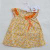 Cotton Frock (Orange Flowers)