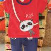 Shirt and Shorts (Red Panda)