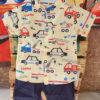 Shirt and Shorts (Yellow Cars)