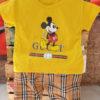 Shirt and Shorts (Yellow Mickey)